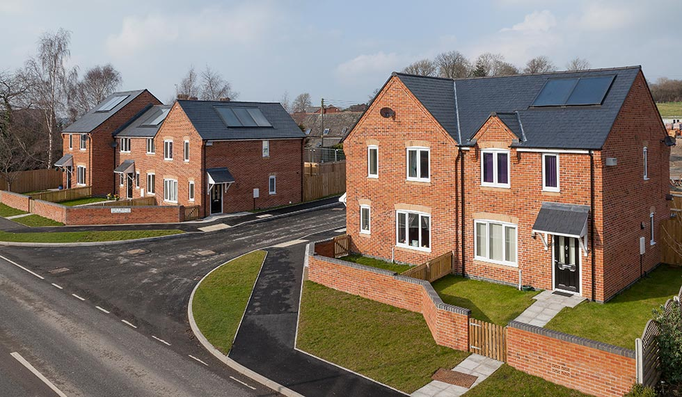 Mid Wales Housing - estate